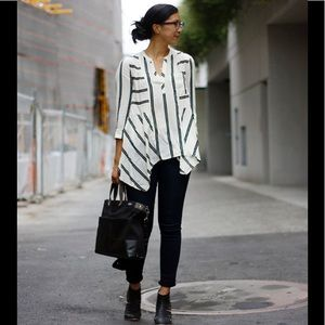 Anthropologie Maeve Lauren Henley blouse